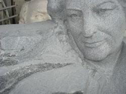 Скульптура из гранита Янцевского №4